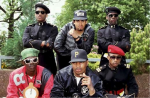 Les Public Enemy et leur milice factice, la Security of the First World.